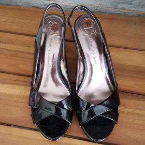 Etienne Aigner Black Ophelia Heels